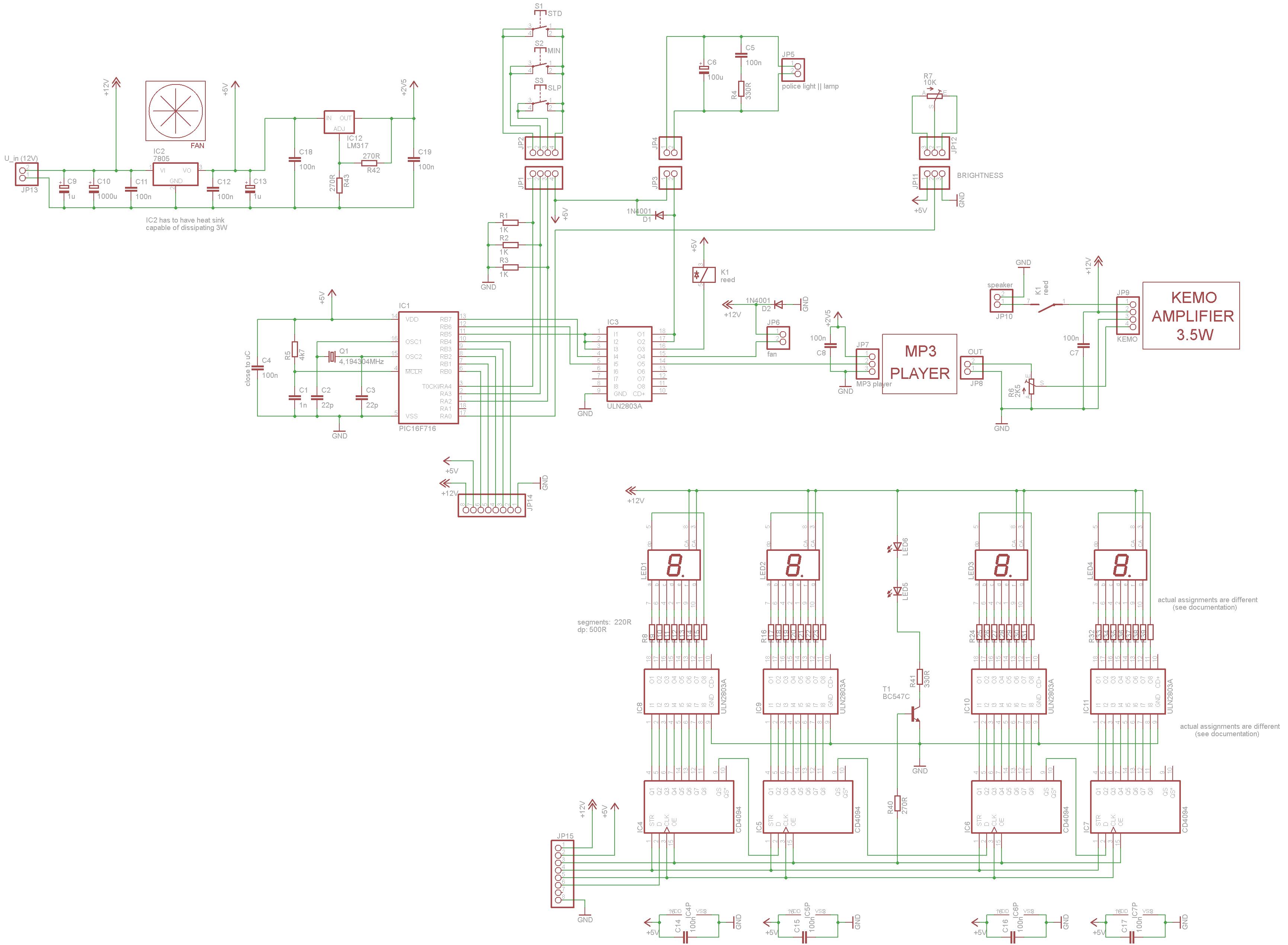 LED-Wecker - www.jb-electronics.de