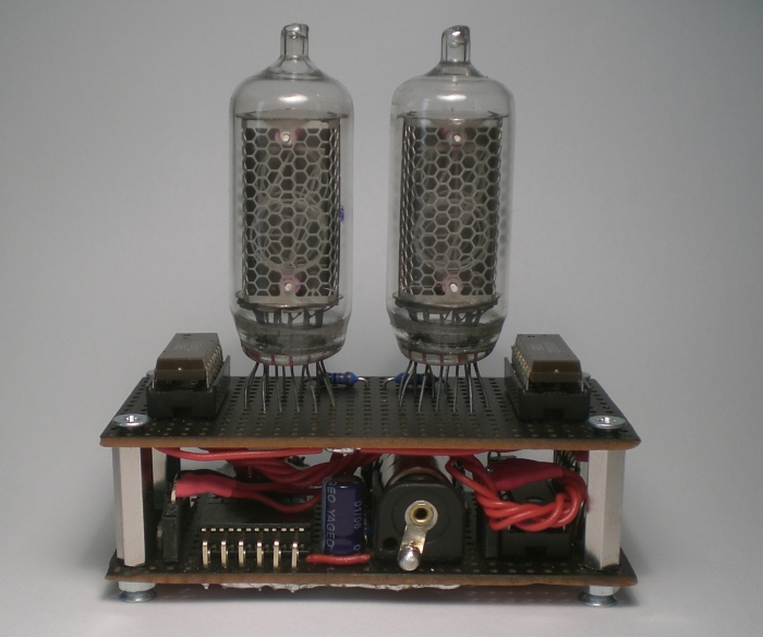 The finished Nixie Event Countdown