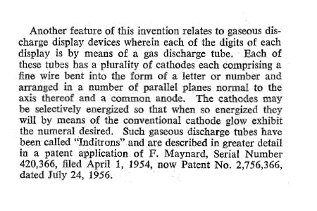 The US patent US2871461