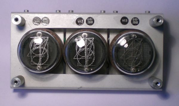 The GN-2A module with three tubes