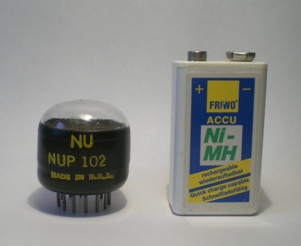 The NUP102 in size comparison